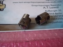 Roller shaft for injection pump