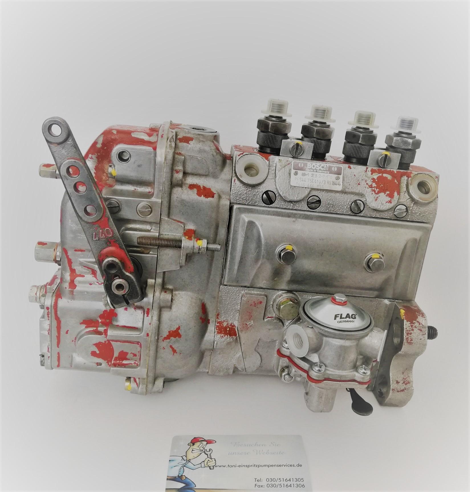 Injection pump Diesel KHD FAHR Ahlmann Hatra PES4A75C410/3RS1185 0400464035